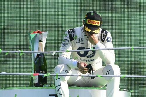 Чудова перемога Гаслі у найцікавішій гонці сезону (ФОТО)
