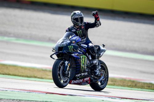 MotoGP. Віньялес на поулі в Емілії-Романьї, Россі став сьомим